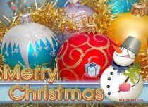 Free eCards - Cheerful Snowman,