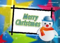 eCards  Christmas Snowman,