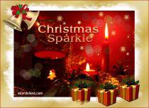 eCards Christmas Christmas Sparkle, Christmas Sparkle