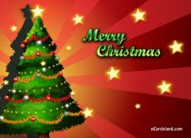 Free eCards - Christmas Tree Green,