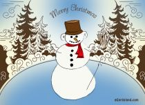 Free eCards - Snowman eCard,