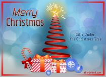 Free eCards - Gifts Under the Christmas Tree,