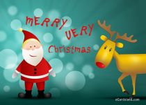 eCards Christmas Merry Very Christmas, Merry Very Christmas