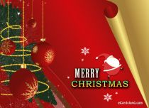 eCards Christmas Santa Claus Greeting, Santa Claus Greeting