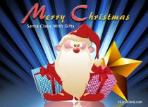 eCards Christmas Santa Claus With Gifts, Santa Claus With Gifts