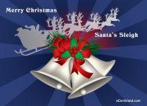 Free eCards - Santa's Sleigh,