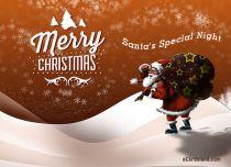 Free eCards - Santa's Special Night,