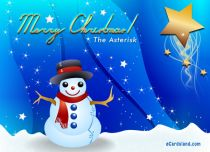 Free eCards - The Asterisk,