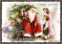 Free eCards - Christmas Post Card,