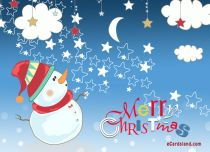 eCards Christmas e-Card from Snowman, e-Card from Snowman