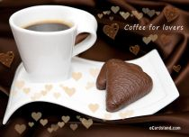 eCards Love Coffee for Lovers, Coffee for Lovers