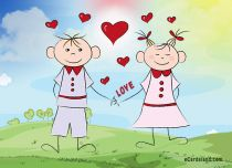 Free eCards - Couple in Love,