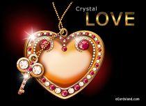 eCards Love Cristal Love, Cristal Love