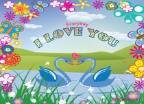 eCards  Everyday I Love You,