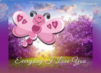 Free eCards - Everyday I Love You,