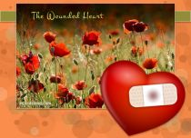 eCards Love The Wounded Heart, The Wounded Heart
