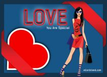 eCards Love You Are Special, You Are Special