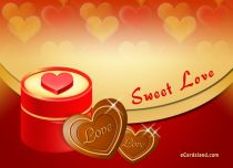 eCards Love Sweet Love, Sweet Love