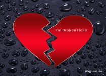 eCards Love I'm Broken Heart, I'm Broken Heart