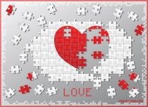eCards  Love Heart Puzzle,