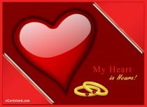 Free eCards - My Heart is Yours,