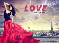 eCards  Only in Paris,