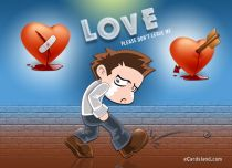 Free eCards, Love cards online - Please don't Leave Me,