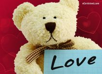 eCards Love Sad Teddy Bear, Sad Teddy Bear