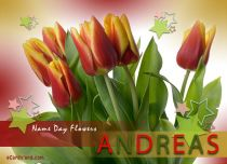 Free eCards, Name Day funny ecards - Name Day Flowers,