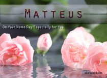 eCards Name Day - Men On Your Name Day, On Your Name Day