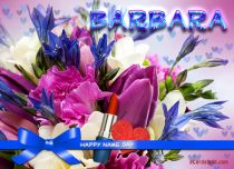 Free eCards Name Day - Women - Flower Arrangement,