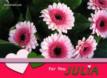 Free eCards Name Day - Women - For You Julia,