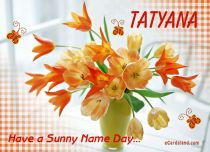eCards Name Day - Women Have a Sunny Name Day, Have a Sunny Name Day