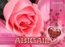 eCards  You're Special Abigail,