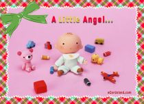 Free eCards Baby - A Little Angel,