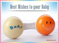 eCards  Best Wishes to your Baby,