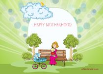 eCards  Happy Motherhood,