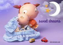eCards Baby Sweet Dreams, Sweet Dreams