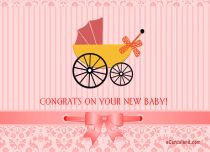 Free eCards Baby - Congrats on Your New Baby,
