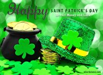 Free eCards St. Patrick's Day - Attract Money and Luck,