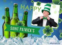 Free eCards St. Patrick's Day - Be Happy,