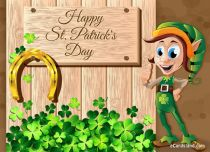 Free eCards St. Patrick's Day - Good Luck,