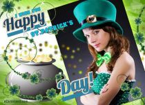 eCards St. Patrick's Day I Wish You a Happy St. Patrick's Day, I Wish You a Happy St. Patrick's Day