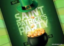 eCards St. Patrick's Day Saint Patrick's Party, Saint Patrick's Party