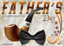 eCards Father's Day Accept the Sincere Wishes, Accept the Sincere Wishes