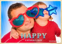 eCards Father's Day Greeting Card, Greeting Card