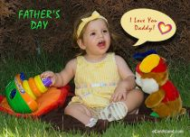 Free eCards, Online cards - I Love You Daddy,