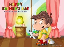 eCards Father's Day My Joyful Wishes for You, My Joyful Wishes for You