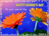eCards Father's Day On Your Special Day, On Your Special Day