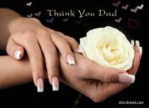 eCards Father's Day Thank You Dad, Thank You Dad